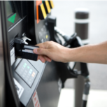 EMV chip card compliance for gas pump terminals